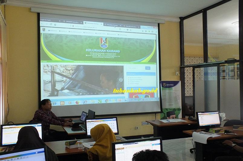 Dukung Tuban Sebagai Smart City, Diskominfo Gelar Bimtek